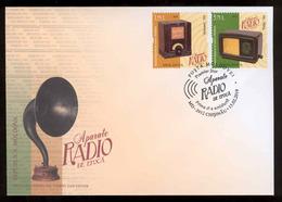 Moldova 2019 Vintage Radio Devices Philips Telefunken FDC - Moldova