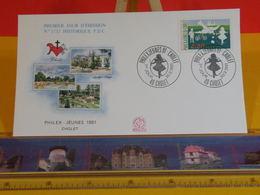Philex Jeunes 1991 - 49 Cholet - 30.3.1991 FDC 1er Jour N°1733 - Coté 2,50€ - FDC