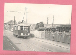 C.P. Sclessin Petite Bourgogne = TRAM  STIL Motrice  Type D  Ex Relse De Liège à  Sclessin Ligne 125 Locomotive 81459 - Tramways