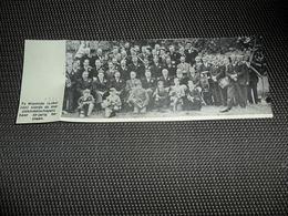 """Origineel Knipsel ( 2439 ) Uit Tijdschrift """" Ons Volk """"  1936  :  Harmonie  Muziekmaatschappij  Heyende ( Lokeren ) - Vieux Papiers"""