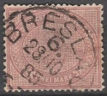 Deutsches Reich    .     Michel       .    37      .       O        .      Gebraucht - Gebraucht