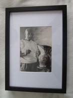 PICASSO - Photographie Originale 18X13 De TRAVERSO - VALLAURIS 1953 [cachet] - Personalità