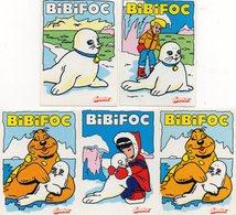 Autocollants BIBIFOC - Aufkleber