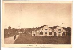 Indochine - Cantho - Le Garage Central - Cartes Postales