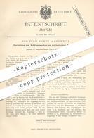 Original Patent - Aug. Ferd. Sicker , Chemnitz , 1881 , Schützenwechsel Am Mechan. Webstuhl | Weben , Weber !!! - Historische Dokumente
