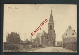 NECHIN. (Péruwelz)  Eglise Et Village. Voyagée En 1932; Voir Dos. - Pecq