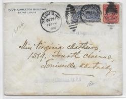 USA - 1904 - ENVELOPPE EXPRES De ST LOUIS  => LOUISVILLE - Covers & Documents