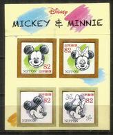 JAPAN. Disney. Mickey & Minnie. Bloc-feuillet Neuf ** - Disney