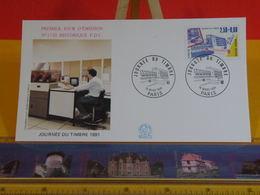Journée Du Timbre 1991 - Paris - 16.3.1991 FDC 1er Jour N°1730 - Coté 3€ - FDC