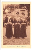 Indochine - Types De Xieng-Khuong - Cartes Postales