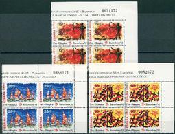 España 1992. Edifil 3157/59** - Barcelona 92. VIII Serie Pre-Olímpica - 1931-Hoy: 2ª República - ... Juan Carlos I