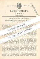 Original Patent - Johann Von Den Berg , Mönchengladbach  1883 , Schutz Am Webstuhl | Webstühle , Weben , Weber , Weberei - Historische Dokumente