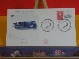 Jeux Olympiques D'Hiver (La Luge) - 73 Macot La Plagne - 2.3.1991 FDC 1er Jour N°1729 - Coté 2,50€ - FDC