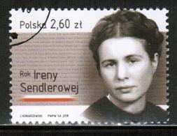 PL 2018 MI 4980 Irena Sendler's Year USED - 1944-.... Republik