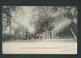 ORROIR. (Mont-de-l'Enclus)  Maison Du Garde-bois. Belle Carte Animée. 1905. 2 Scans. - Kluisbergen