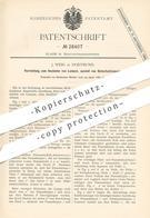 Original Patent - J. Weig , Dortmund , 1883 , Anzünden Von Lampen | Zünder , Lampe , Brenner , Licht | Knallsilber !! - Historische Dokumente
