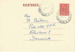 Kortbrev - Postmark: Heistadmoen Feltpoståpneri 1966  Norway. S-997 - Postal Stationery