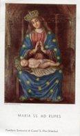 Castel Sant'Elia (Viterbo) - Santino MARIA SS. AD RUPES - P90 - Religione & Esoterismo
