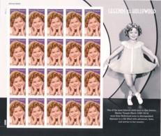 USA Mi.Nr. 5234 Hollywood-Legenden: Shirley Temple - Folienbogen - MNH - Blocks & Sheetlets