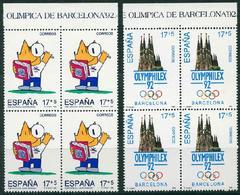 España 1992. Edifil 3218/19** - Juegos De La XXV Olimpiada Barcelona 92 - 1931-Hoy: 2ª República - ... Juan Carlos I