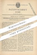 Original Patent - Eugen Bagge , Hamburg , 1885 , Lastdruckbremse Für Hebezeuge | Fahrstuhl | Bremse | Aufzug !!! - Historische Dokumente