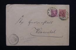 ALLEMAGNE  - Entier Postal + Complément De Hall , Cachet D 'administration De Pénitencier - L 22670 - Private