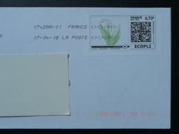 Muguet Lily Of The Valley Timbre En Ligne Sur Lettre (e-stamp On Cover) TPP 3940 - Végétaux