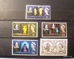 GREAT BRITAIN - 1964. SG # 646-650. MNH - Shakespeare Festival Set - 1952-.... (Elizabeth II)
