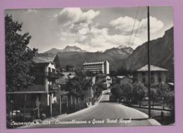 Courmayeur - Circonvallazione E Gran Hotel Royal - Italien