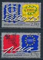 France - Europa 1995 Paix Et Liberté YT 2941-2942 Obl. - France