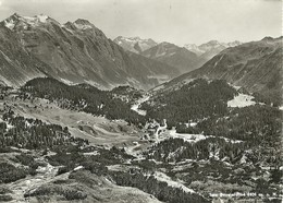 "2594 "" SAN BERNARDINO - 1626 S.l.m. "" CARTOLINA POSTALE ORIGINALE NON SPEDITA - Svizzera"