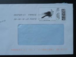 Oiseau Bird Perruche Parrot Timbre En Ligne Sur Lettre (e-stamp On Cover) TPP 3992 - Parrots
