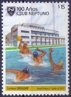 Used Uruguay 2012, 100 Years Neptuno Club 1V. - Uruguay