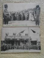 7 Cpa Tervuren Tervueren Fête Coloniale Du 2 Juillet 1902 Roi Léopold - Tervuren