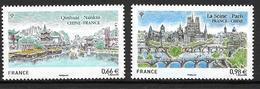 France 2014 N°4847/4548 Neufs Tourisme, Relations Avec La Chine, à La Faciale - France