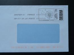 Fleur De Pissenlit Timbre En Ligne Sur Lettre (e-stamp On Cover) TPP 4051 - Végétaux