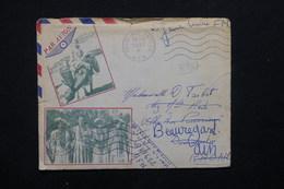 ALGÉRIE - Enveloppe Illustrée En FM Pour La France En 1957 - L 22673 - Algérie (1924-1962)