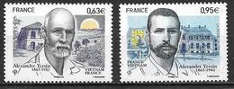 France 2013 N°4798/4799 Neufs Alexandre Versin, à La Faciale - France