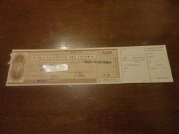 ASSEGNO COMPLETO DI MATRICE BANCA NAZIONALE DEL LAVORO-1969 - Cheques & Traveler's Cheques