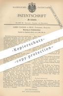 Original Patent - James Parker , Hull , Yorkshire , England  1885 , Grabemaschine | Bagger , Kran , Straßenbau , Tiefbau - Historische Dokumente