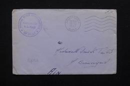 ALGÉRIE - Enveloppe En FM De L 'Hôpital Mixte D ' Orléanville Pour La France En 1957 - L 22674 - Algérie (1924-1962)