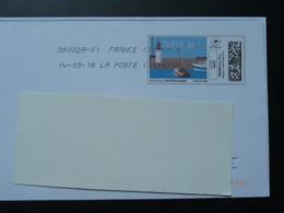 Phare Lighthouse Région Bretagne Timbre En Ligne Sur Lettre (e-stamp On Cover) TPP 4094 - Phares