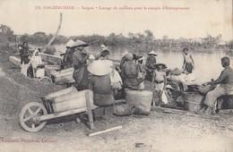 SAÏGON (Cochinchine): Lavage De Cailloux Pour Le Compte D'Entrepreneur - Vietnam