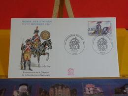 Création De La Gendarmerie Nationale - Paris - 1.6.1991 FDC 1er Jour N°1747 - Coté 3€ - FDC