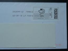 Médecine Caducée Timbre En Ligne Sur Lettre (e-stamp On Cover) TPP 4144 - Medicina