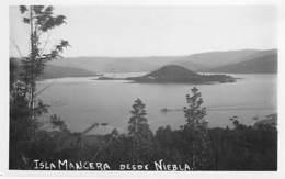 CHILE Chili - ISLA MANCER Desde Niebla - CPSM Photo Format CPA - - Chili