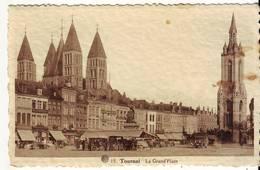 CPA - TOURNAI - La Grand'Place - Tournai