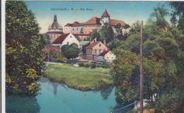 AK - (Tschechien) NEUHAUS (Jindrichuv Hradec) In Südböhmen - Blick Zur Burg 1914 - Tschechische Republik