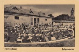 AK - (Ungarn) HAJDUSZOBOSZLO - Reger Andrang Im Thermalbad 1957 - Ungarn