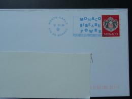 12/11/2009 Monaco Disease Power Flamme Monaco Sur Lettre Postmark On Cover - Storia Postale